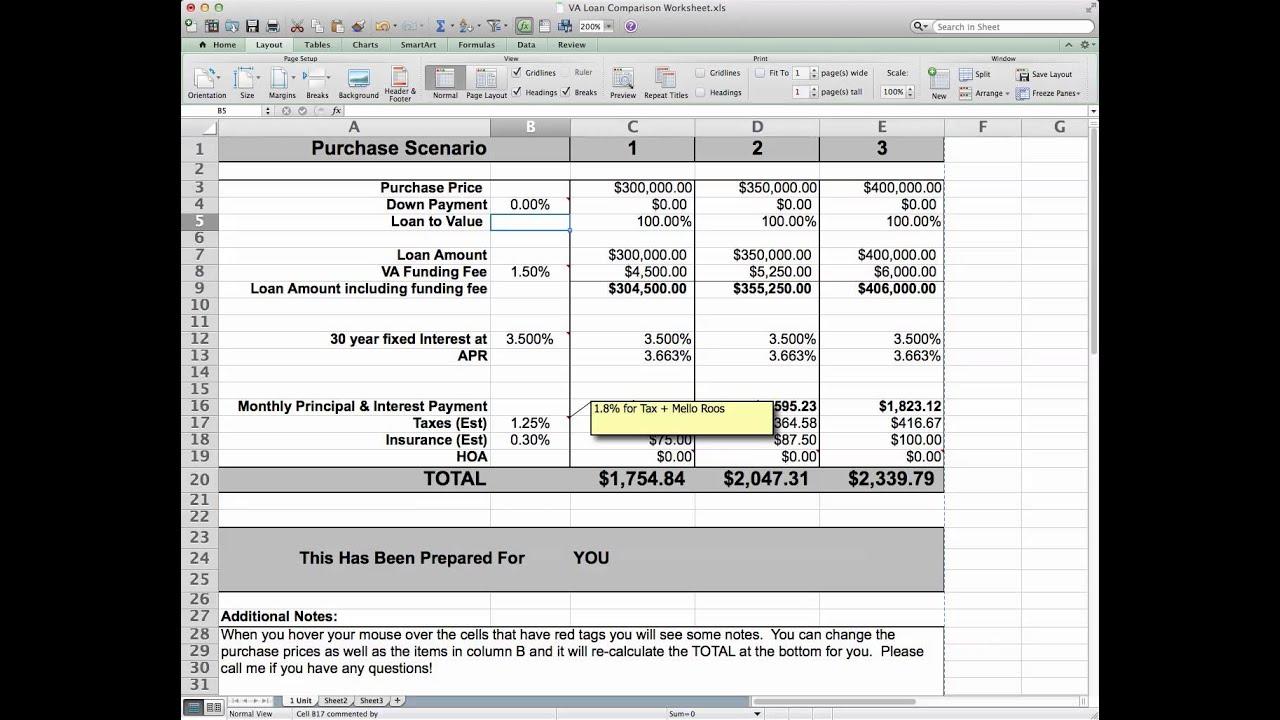 worksheet Va Max Loan Amount Worksheet va max loan amount worksheet entitlement deployday comparison worksheet