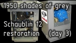 Шаублин 12 реставрация (день 3). Schaublin 12 restoration (day 3) [EN Sub]