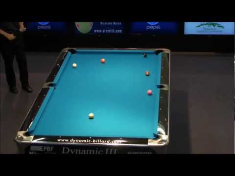 Final European Junior Championship 9 Ball 2012
