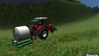 Landwirtschafts Simulator 2009 Rundballenwickler