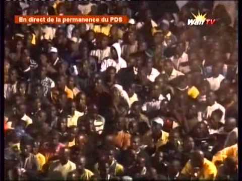 Le Discourt de Me Abdoulaye Wade (Walf tv)