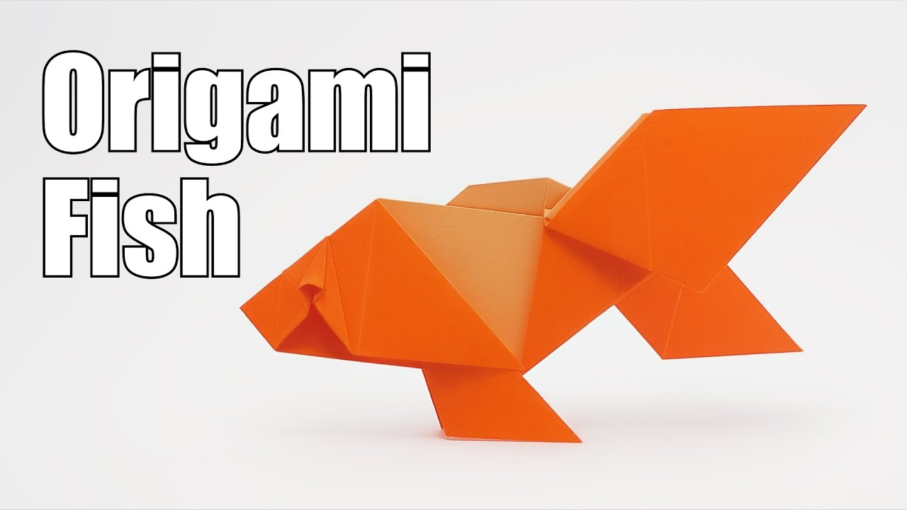How To Make An Origami Fish | Very Easy And Simple Steps | - YouTube | 720x1280