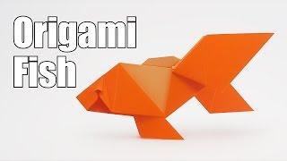 Kijk Origami Vis filmpje