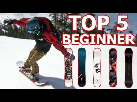 Top 5 Beginner Snowboards 2019