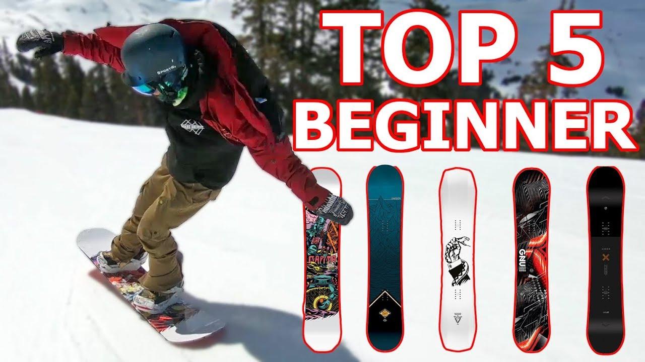 Best Snowboards 2019 Top 5 Beginner Snowboards 2019   YouTube