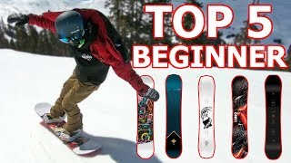 Top 5 Beginner Snowboards 2019
