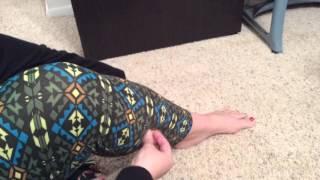 How To Shorten Lularoe Leggings!!