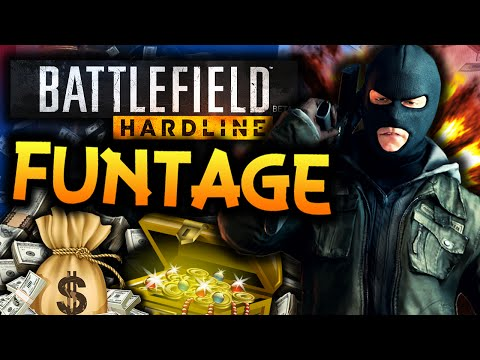 Battlefield: Hardline - Funtage! - (BF Hardline Funny Moments)