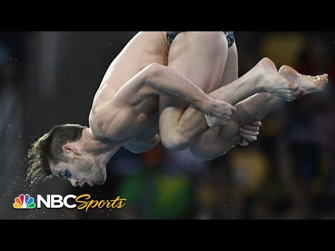 David Boudia Dominates for 3m Springboard Gold | NBC Sports ...