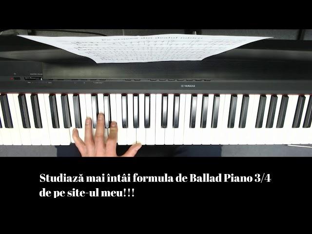 Pe Crucea Din Dealul Iubirii - Tutorial pian - Lucian Opriș