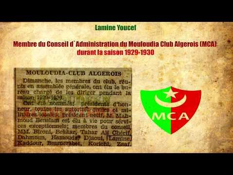 Lamine Youcef Dirigeant Du MC Alger 1929-1931