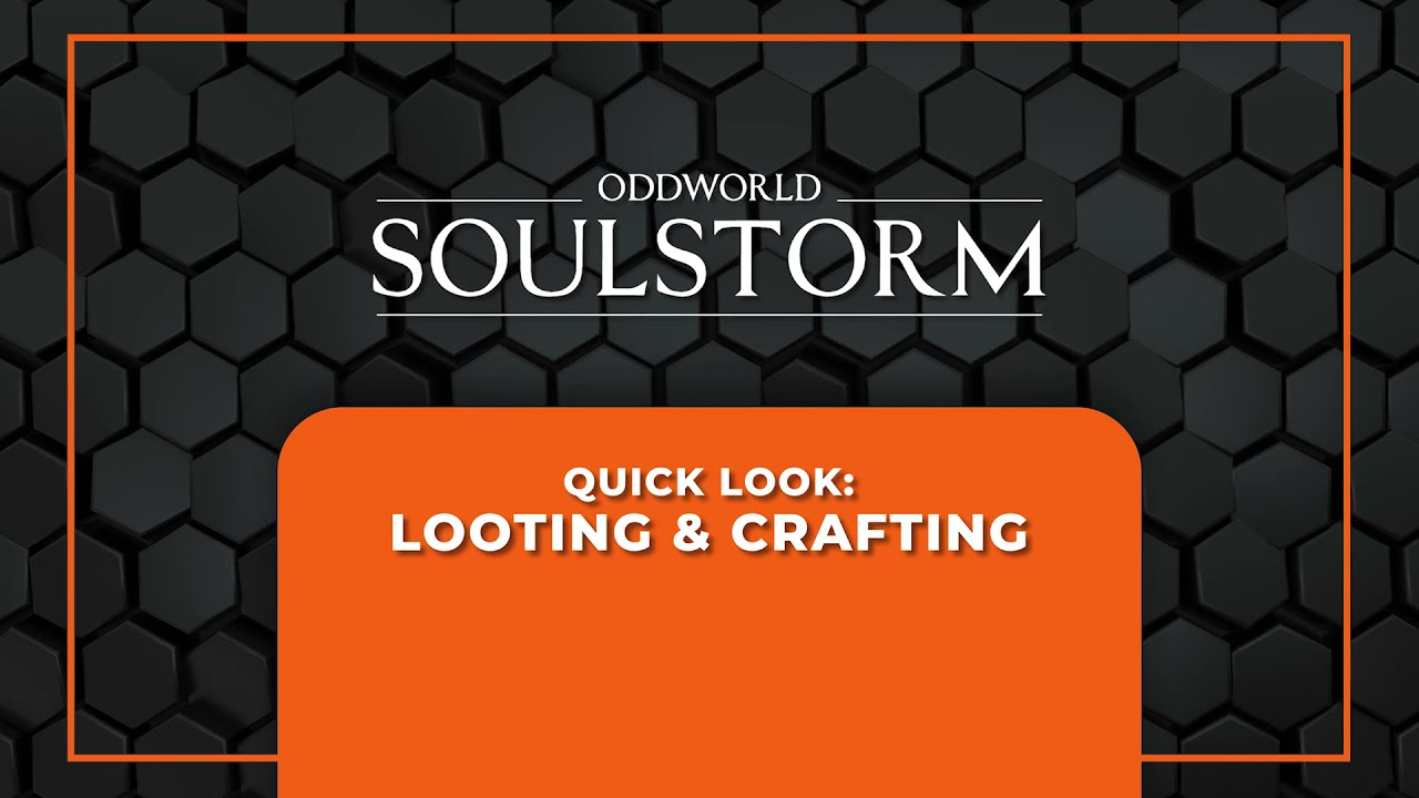 Quick Look: Looting and Crafting