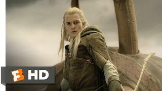 Legolas Slays the Oliphaunt (6/9) - The Lord of the Rings: The Return of the King Movie (2003) - HD thumbnail