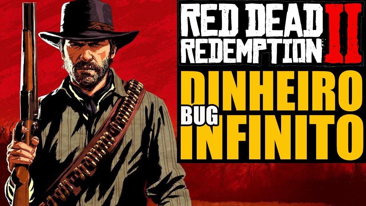 BUG NO RED DEAD REDEMPTION 2 : DINHEIRO INFINITO E MAIS