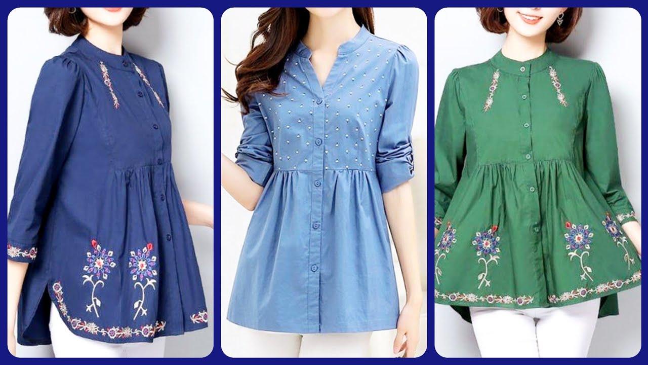 Latest short frock design & stitching style 2020 ideas   Short frock   Kurti design   Dress desi