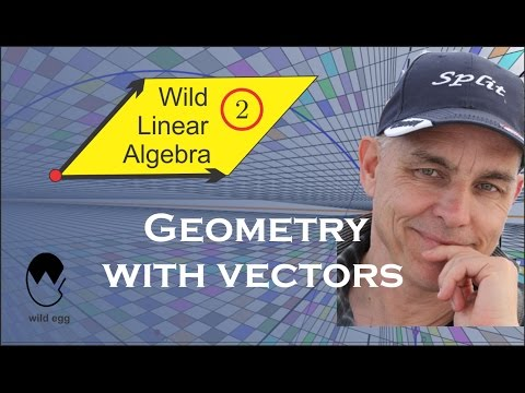 Wild Linear Algebra 2: Geometry with vectors