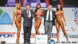 25й Открытый Чемпионат России - фитнес-бикини 168см (HD)