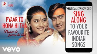 Pyaar To Hona Hi Tha - Official Bollywood Lyrics|Jaspinder Nirula|Remo Fernandes