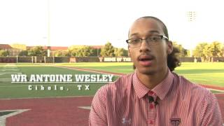 Newcomers: Antoine Wesley