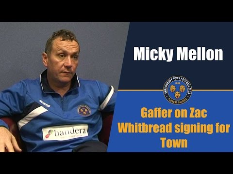 INTERVIEW | Micky Mellon on Zak Whitbread signing for Town - Town TV