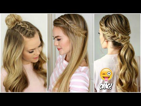 PEINADOS TUMBLR FÁCILES PARA CABELLO LARGO 2017 #1 cute hairstyles