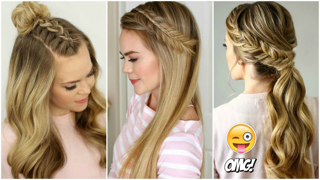 Peinados Tumblr Fáciles Para Cabello Largo 2019 1 Cute Hairstyles