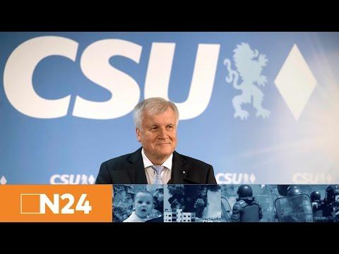 Pressekonferenz:  Seehofer will CSU-Chef und bayerischer Ministerpräsident bleiben