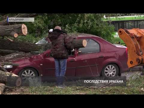 2017 05 25 HD Последствия урагана во Владимире +