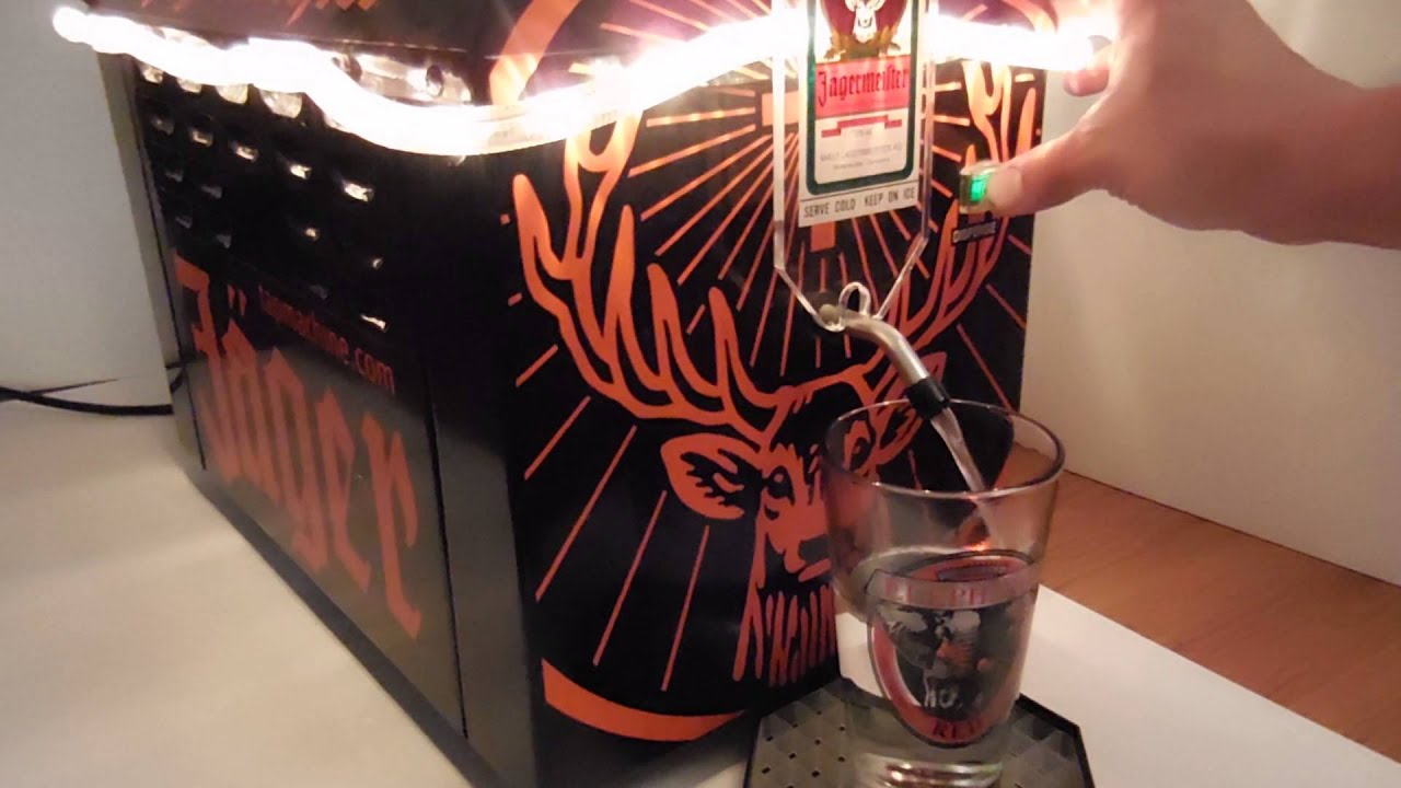 Jagermeister J99 Beverage Cooler Shots Dispenser Youtube