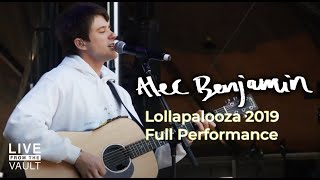 Download Lagu Alec Benjamin - Lollapalooza 2019 (Full Show) [Live From The Vault] mp3