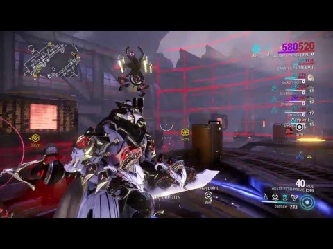 Warframe gameplay Last runs of Law of Retribution Raid