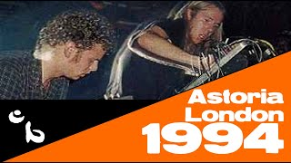 The Chemical Brothers Live At Astoria London 1994