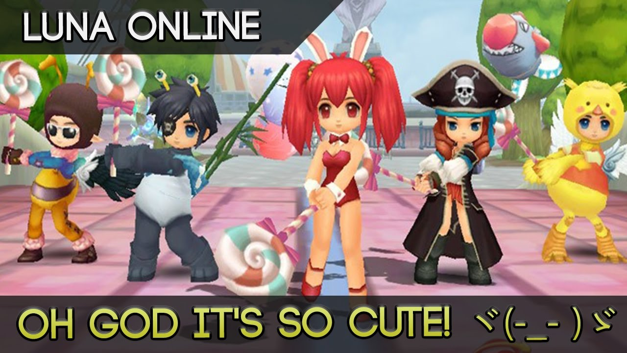 luna online quite possibly the cutest most adorable anime mmorpg
