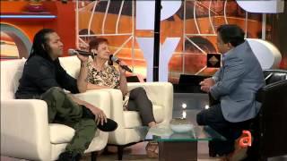 Amaury Gutiérrez y Blanca Rosa Gil en el Happy Hour - América TeVé