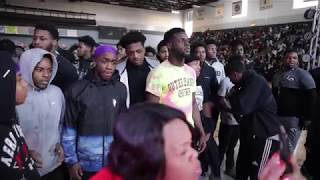 Harrisburg Pa. football team honored by city, school district with parade, ceremony