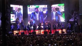 Nicaragua canta al son de Banda El Recodo.