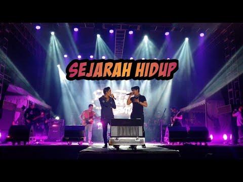 Setia band ft Rama eru - Sejarah Hidup (video konser)
