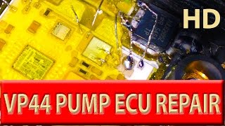 Repeat youtube video Vauxhall OPEL won't start, vectra / astra Y20DTH P1630/P1631/P1651 diesel pump vp44 ecu repair