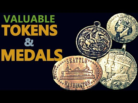 VALUABLE AND RAREST TOKENS & MEDALS | HABEL NUMISMATIC