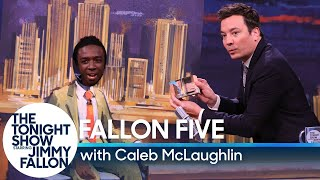 "Jimmy Fallon Does Special Five-Minute ""Homemade"" Tonight Show on Cardboard Set"