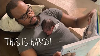 Parenting a NewBorn is hard....This is How Our First Day at Home Went!