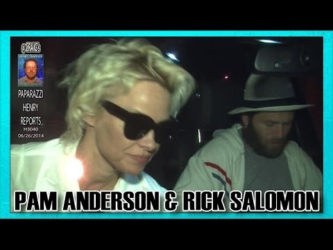 Pam Anderson & Hubby Rick Salomon dined at CRAIGS