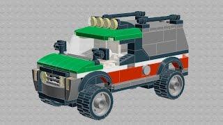LEGO moc TUTORIAL! how to build OCTAN crew TRUCK !