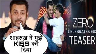 Salman Khan Shocking Reaction On Zero   Salman khan Reaction On Shahrukh Khan   Zero Teaser Out Now