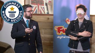 Breakfast show DJ Sean from Fun Kids attempts Guinness World Records title
