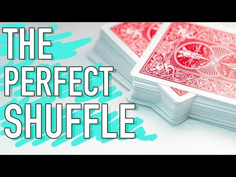 How to MASTER the perfect shuffle! // Faro shuffle & Magic trick tutorial