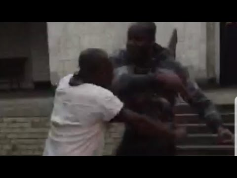 MAN BEATS OLDMAN FOR CHASING HIS MUM. LISTEN TO KUMCHACHA'S