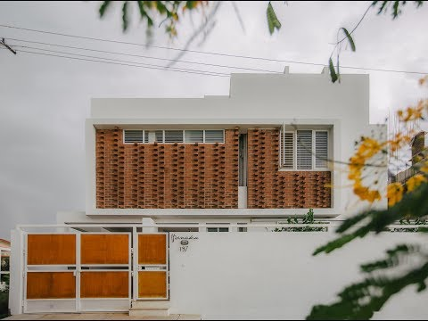 Lateral House in Bengaluru by GRCA