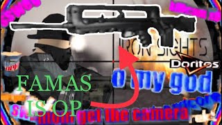 Gambar cover Famas is OP | Montage | Roblox | Iron Sight #24