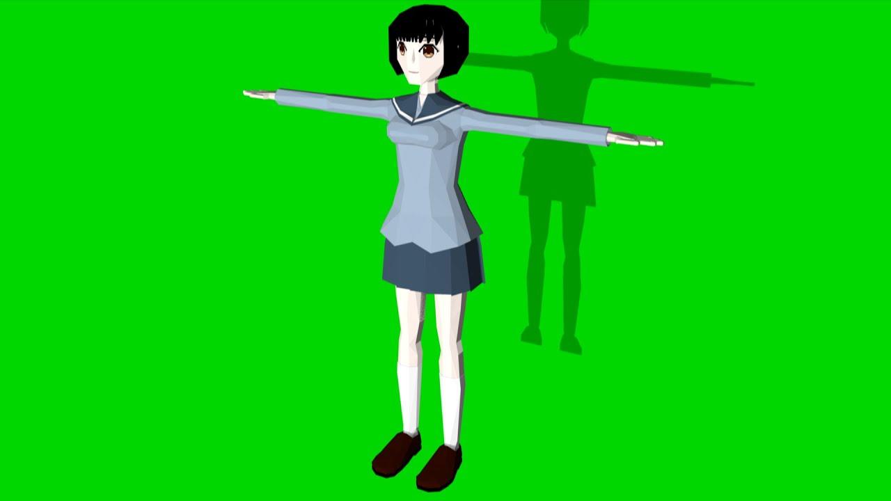 Blender Character Modeling 7 Of 10 : Blender wg model creator how to make d character